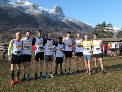 Chpts Bi-Départemental de Cross à Saint Férréol - 5 podiums